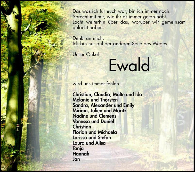 Geliebte TA Ewald Kellermann - Todesanzeigen - Bergsträßer Anzeiger @ZT_99