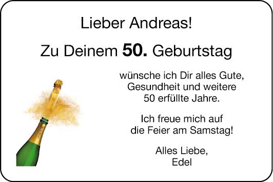 Alles Gute Zu Deinem 50. Geburtstag