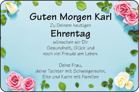 Rieger Herzliche Grüße Familienanzeigen Mannheimer Morgen